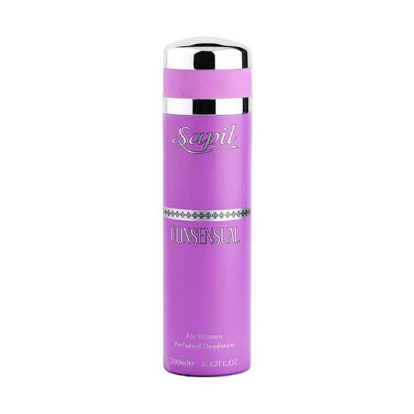 Consensual women's deodorant