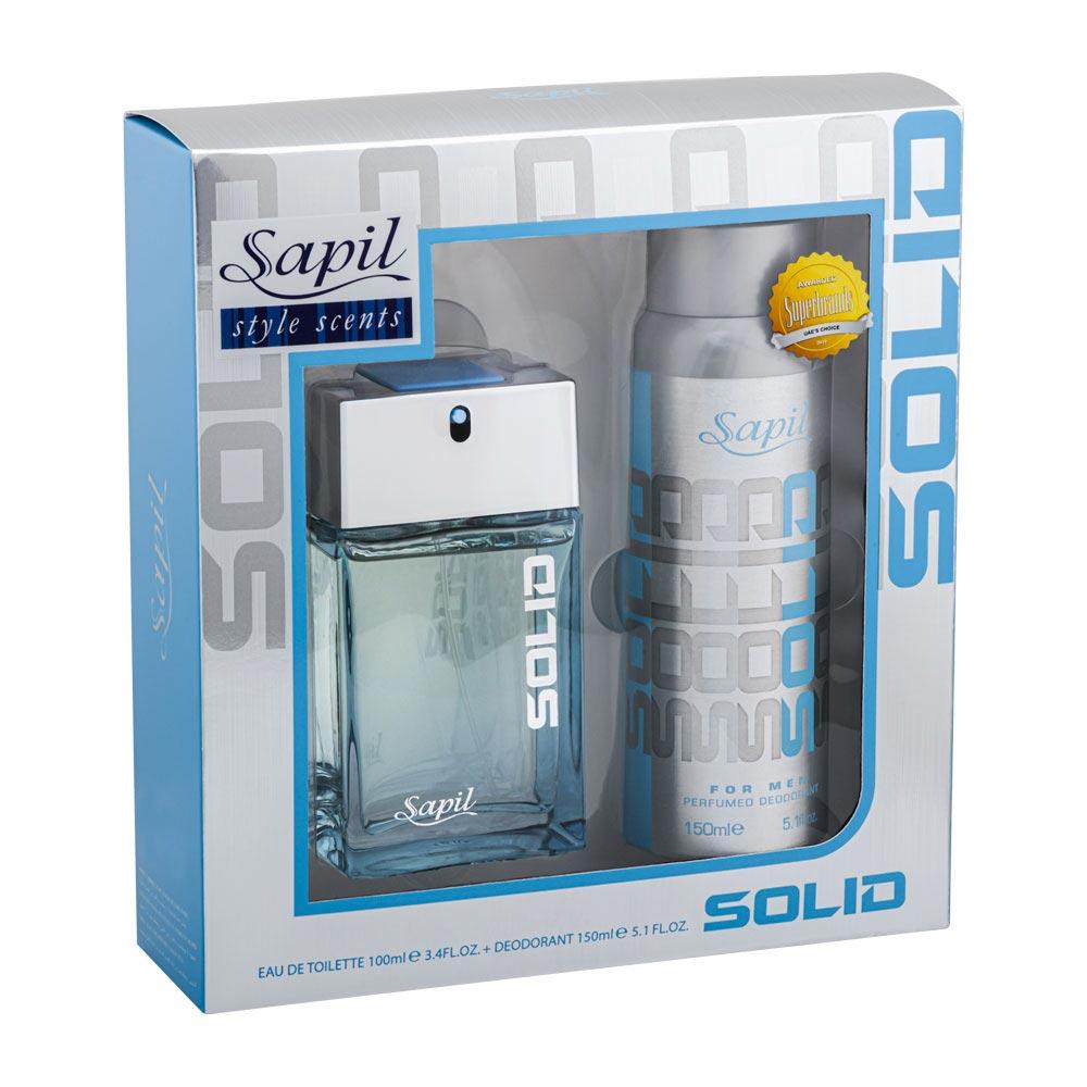 Solid Men's Perfume + Body spray